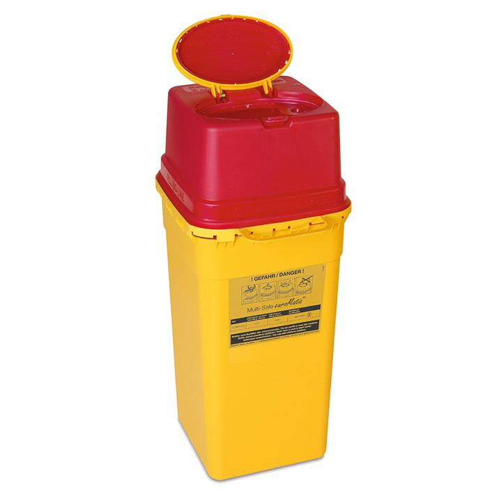 Kanülenabwurfbehälter 7,0 Ltr., Multi-Safe euroMatic 7000