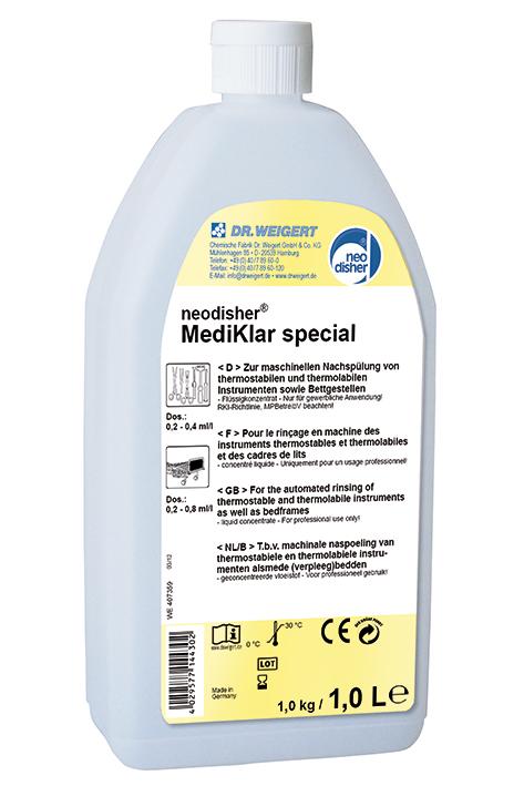 neodisher MediKlar special 1 Ltr. Nachspüler