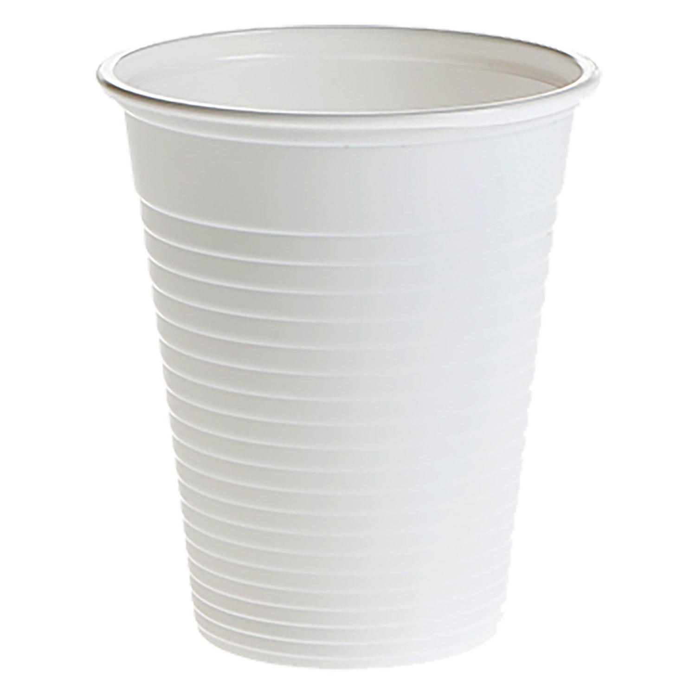 Universalbecher 180 ml, weiß, (100 Stk.)