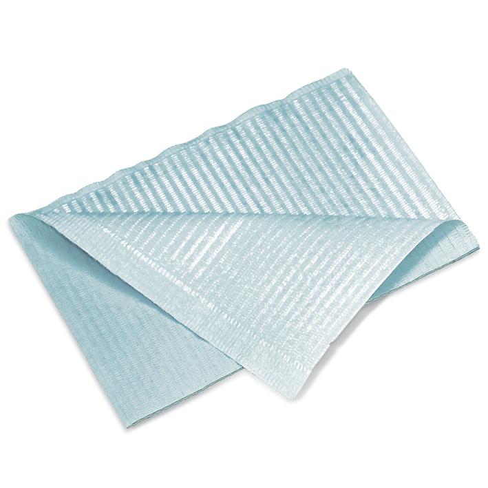 Patientenservietten, blau, 33 x 45 cm, 2-lagig (500 Stck.)