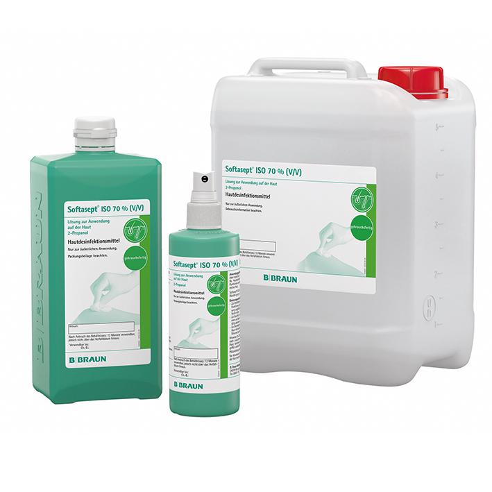Softasept ISO 70 % 250 ml, Hautdesinfektion