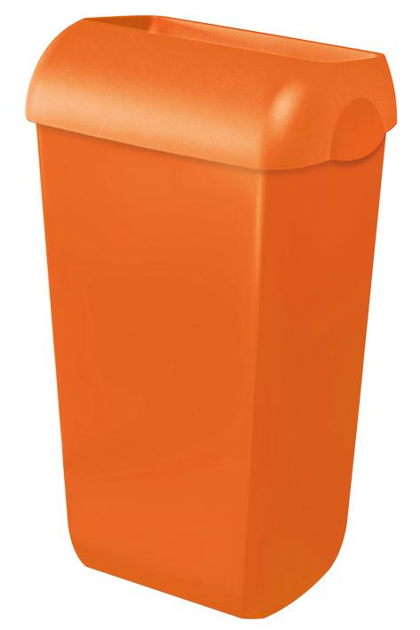 Abfalleimer Kunststoff orange 23 Ltr.