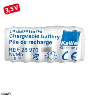 Ladebatterie (NiMH) 3,5 V, kurz, für Ladegriff Steckdose