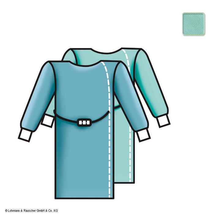 Sentinex PRO OP-Mäntel Standard, ''direct'', steril, 150 cm (44 Stck.), ohne Einschlag