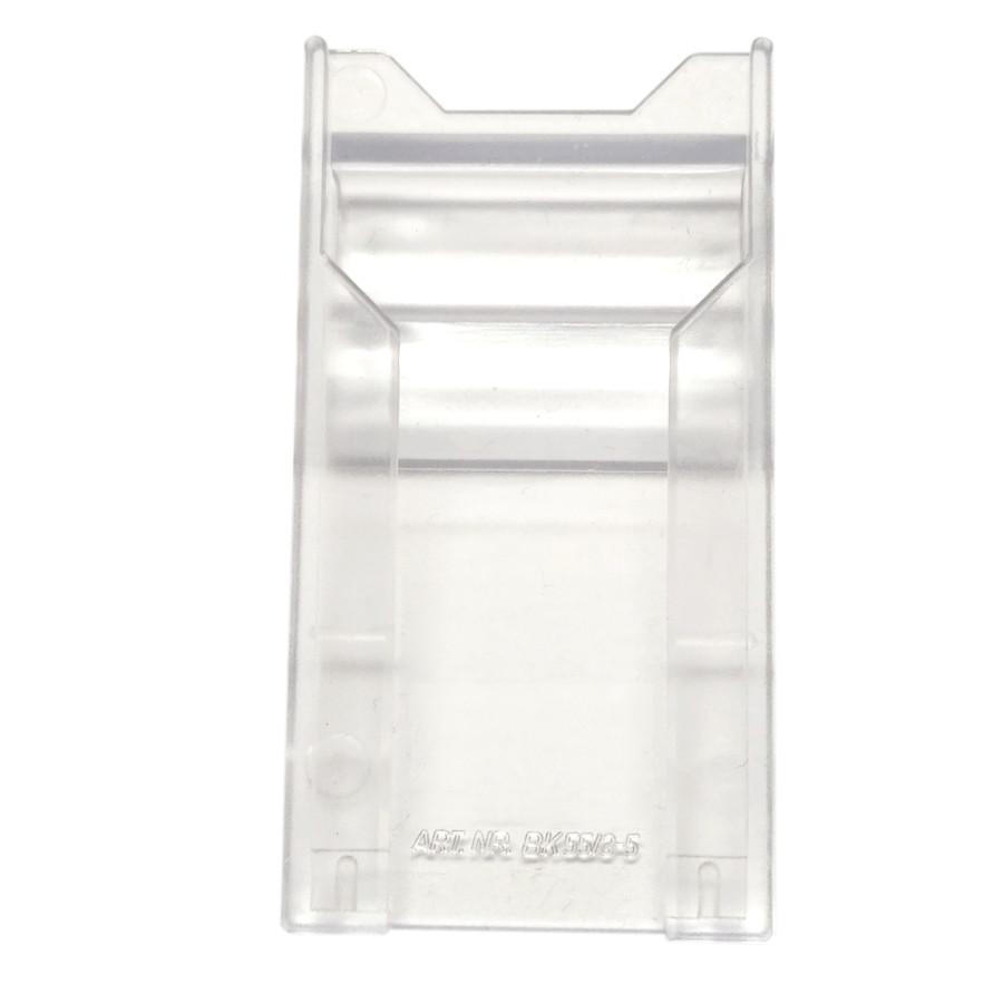 Barcode-Kartentasche BK 55/3-5 mm zum Klemmen (VE=10 Stk.)