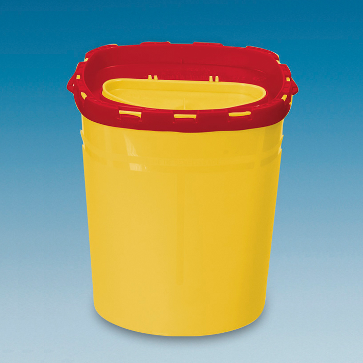 Kanülenabwurfbehälter 2,1 Ltr., Multi-Safe twin 2100