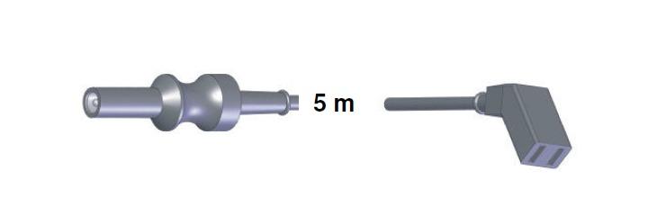 Bipolar Anschlusskabel, AES-BER-MAR -> AES, 5,0 mtr.