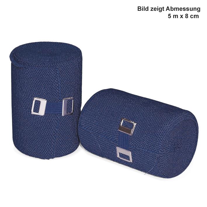Urgolast color Kurzzugbinden, blau, 5 m x 6 cm (10 Stck.)