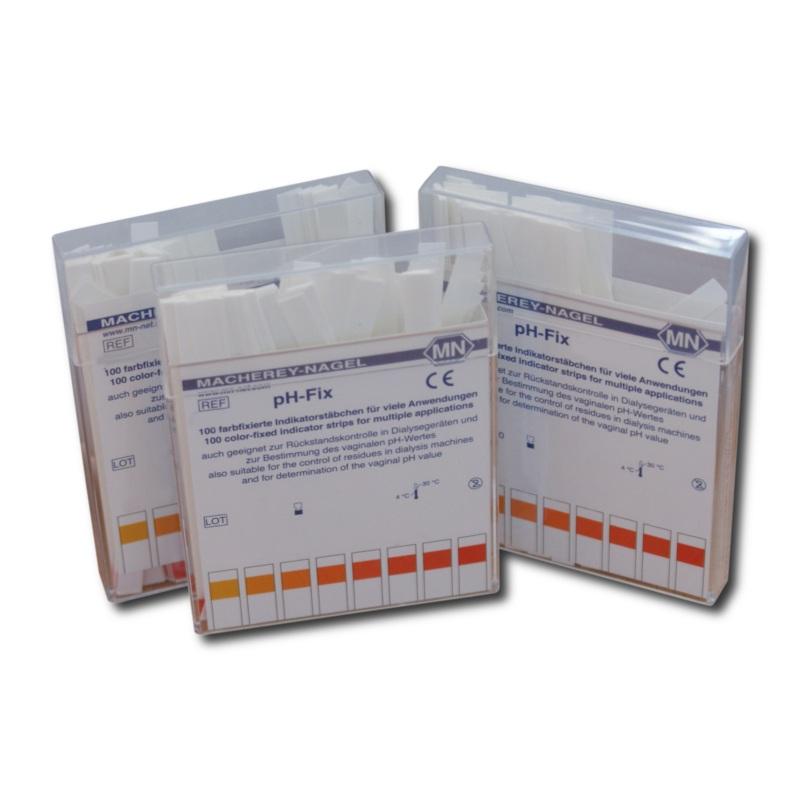 pH-Fix Indikatorstäbchen, 0 - 6,0 (100 T.)