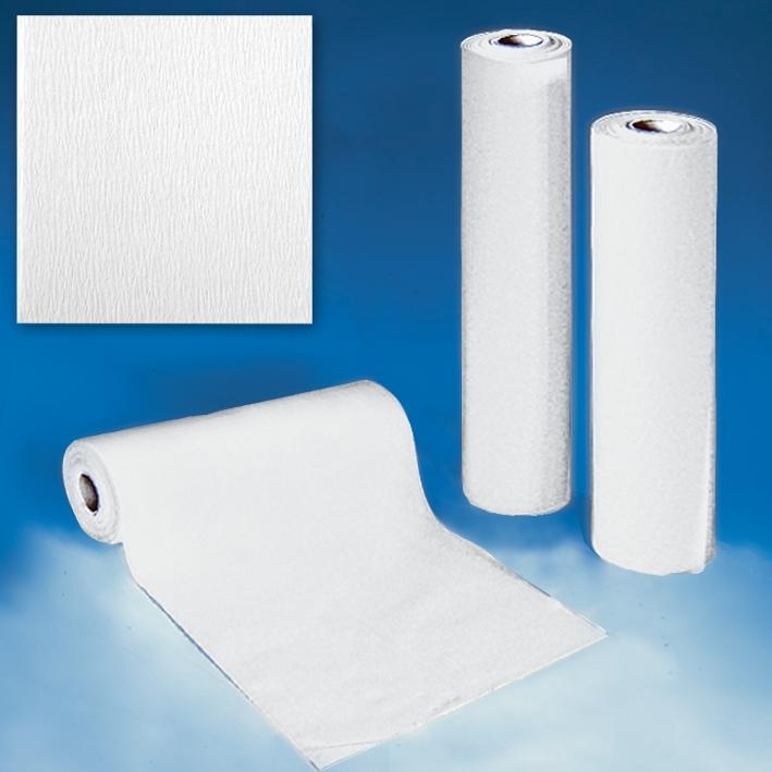 Sterilisierpapier Premier 50 cm x 100 m, gekreppt weiß (2 Rl.)