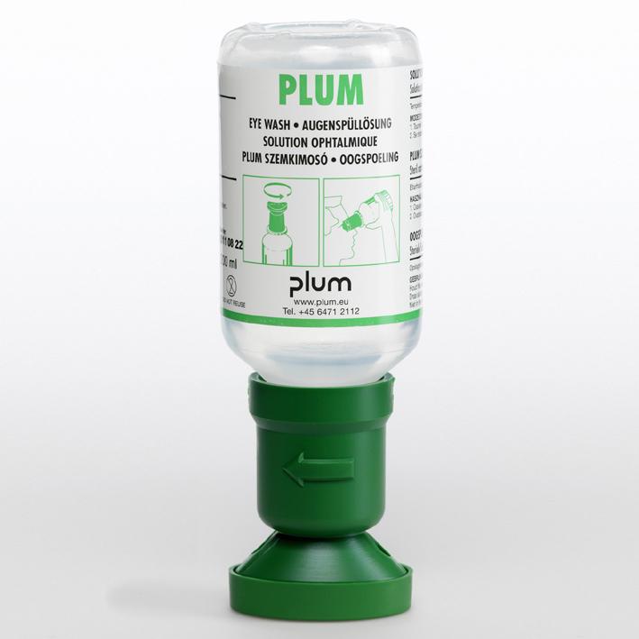 Plum Augenspülflasche 200 ml, (0,9 % Natriumchloridlösung)