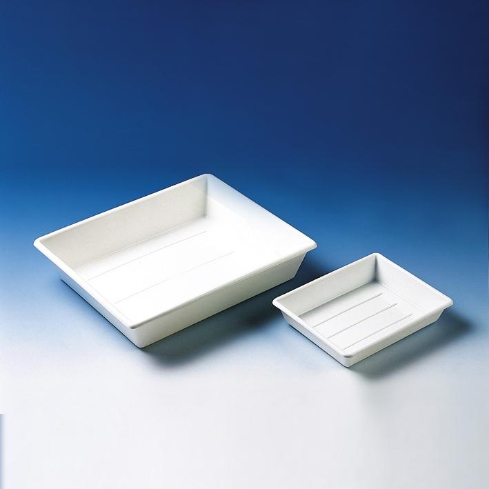 Schale (Fotoschale), PP, weiß, stapelbar, 225 x 180 x 45 mm