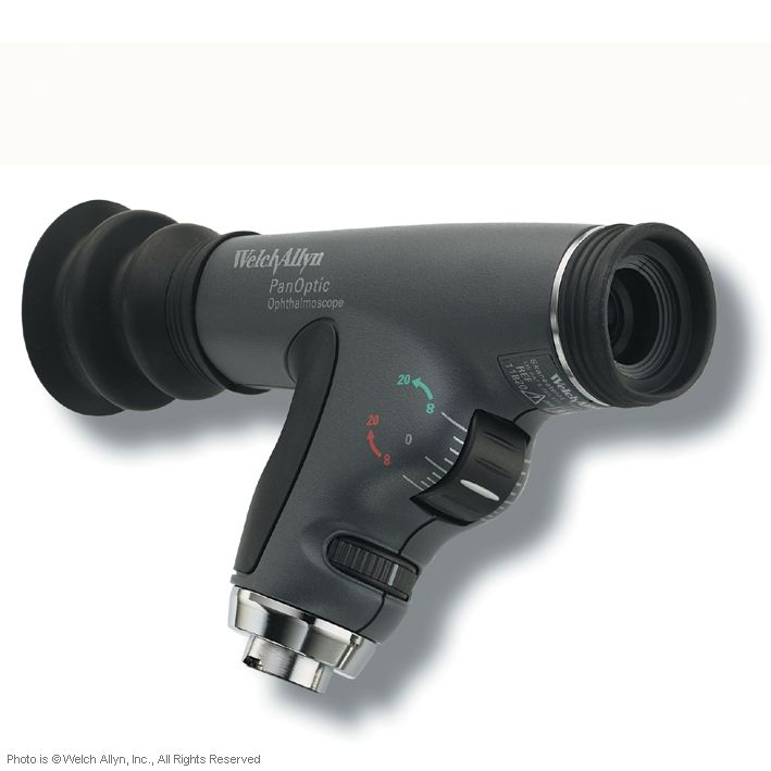 PanOptic Ophthalmoskop Instrumentenkopf, 3,5 V, 4 Blenden