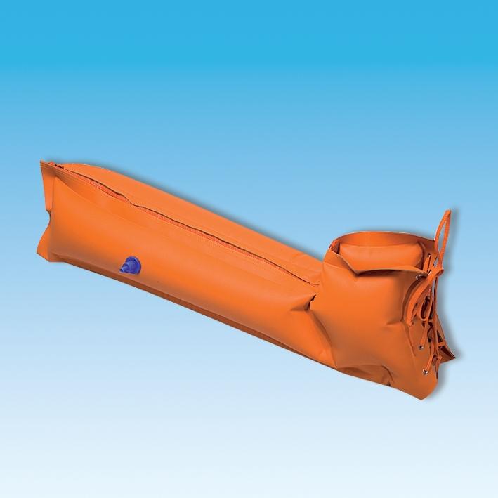 Pneumat 4-Kammerschiene aufblasbar, für Kinder, für ganzes Bein