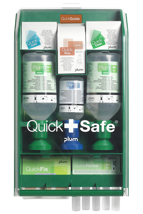 Plum QuickSafe Box Complete, Erste-Hilfe Station