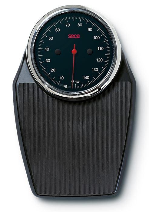 mechanische Flachwaage seca colorata 760, schwarz/schwarz/chrom