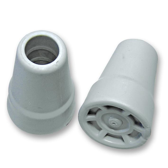 Gehhilfe-Kappe grau 19 mm