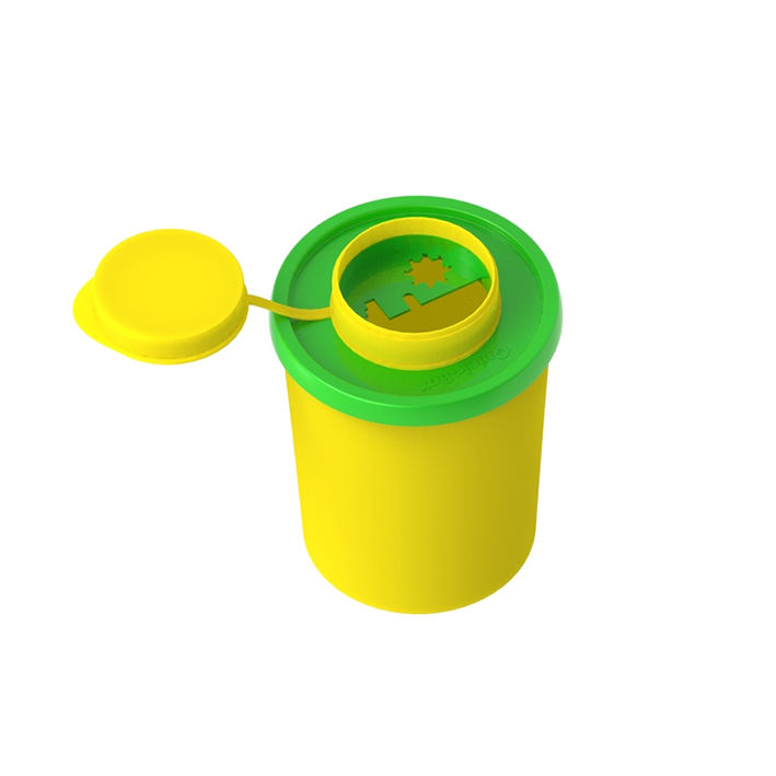 Entsorgungsboxen Medi-Müll 0,5 Ltr., ohne Halterung (170 Stck.)