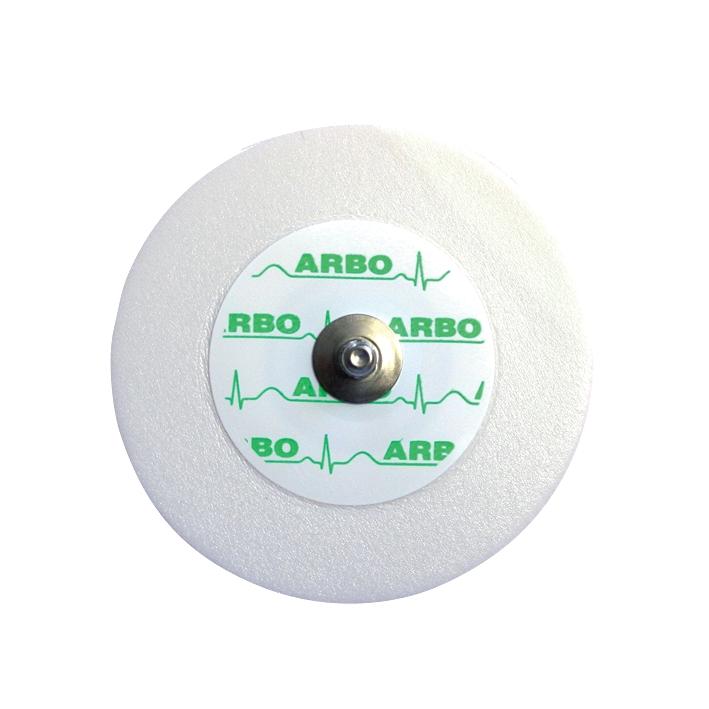 Arbo Einmal-Elektroden mit Liquidgel, u. Ag/AgCI-Sensor Ø 55 mm (30 Stck.), mit Druckknopf, H66LG