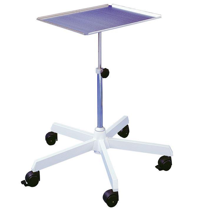 Instrumenten-Arzttisch, höhenverstellbar von 67-100 cm