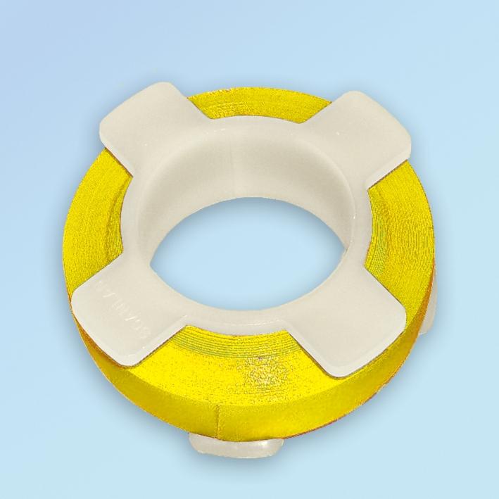 Surg-I-Band gelb 6,20 m, 6 mm breit, Instrumentenkennzeichnung