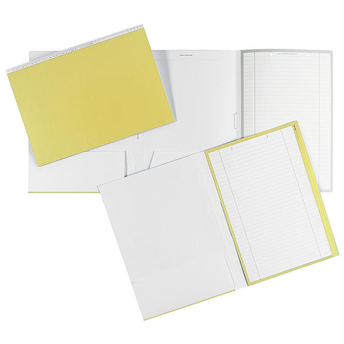 Karteimappen DIN A4 quer gelb für alle Fachrichtungen (100 Stck.)