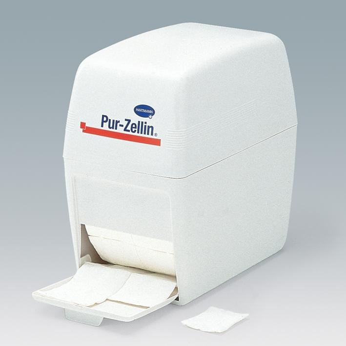 Pur-Zellin-Box, leer, Zellstofftupferspender