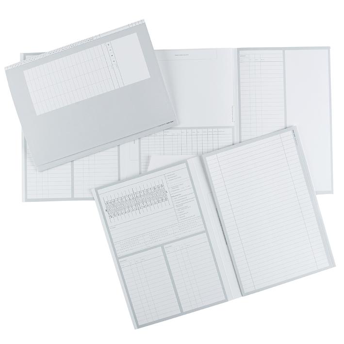 Karteimappen DIN A4 quer, Typ Zahnheilkunde (100 Stck.)