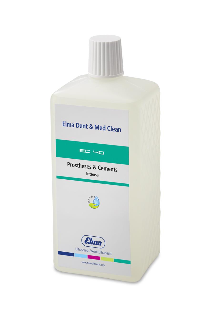 EC 40 Prosthesis & Cements Intense, 1 Ltr. Reinigungslösung f.Dental/Medizin