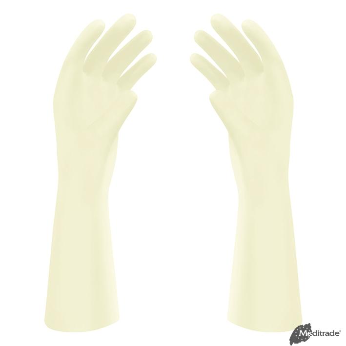 Reference OP-Handschuhe Latex, leicht, gepudert, steril, Gr. 6,5 (50 Paar)