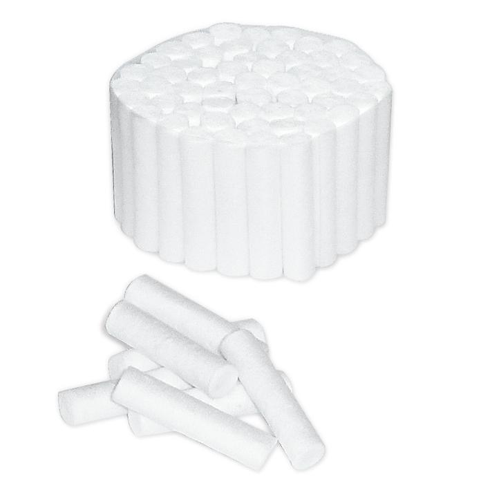 Zahnwatterollen Gr. 1, Ø 8 mm (300 g)