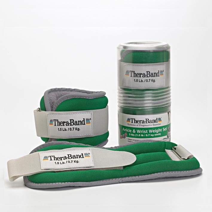 Thera-Band Gewichtsmanschetten, 2 x 680 g, grün