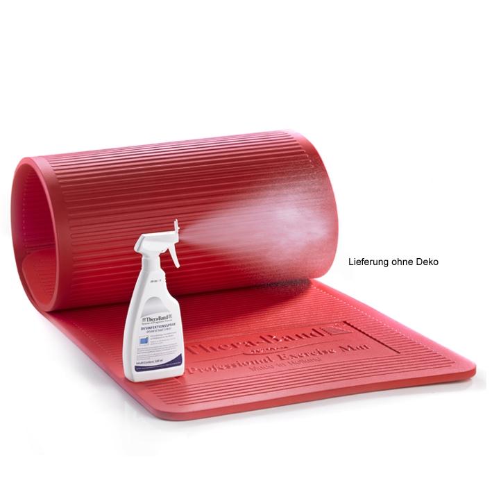 Thera-Band Gymnastikmatte, rot, Stärke 25 mm, 190 x 60 cm