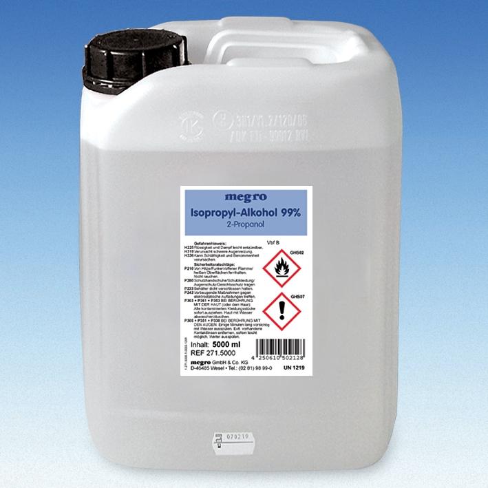 Isopropyl-Alkohol 99 % 5 Ltr.
