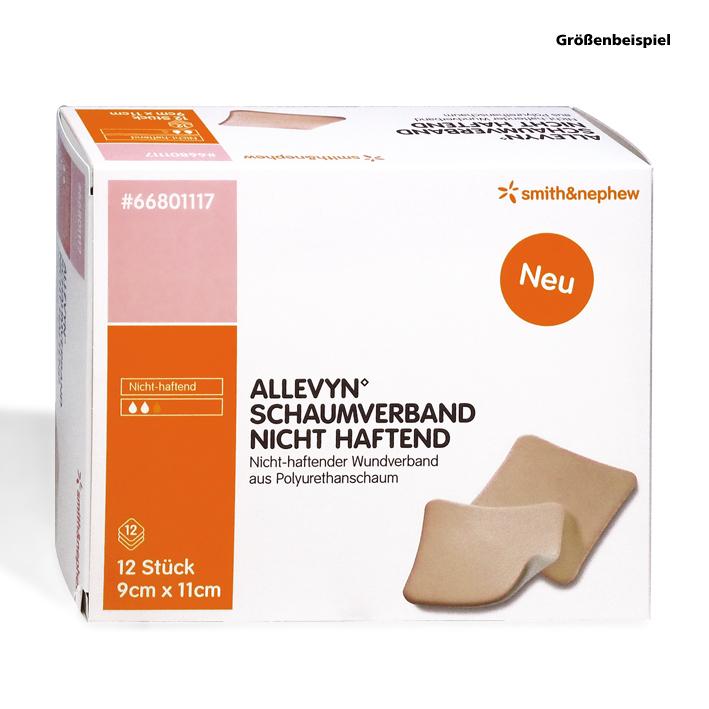 Allevyn Schaumverband nicht haftend, 4,5 x 5,5 cm (12 Stck.)