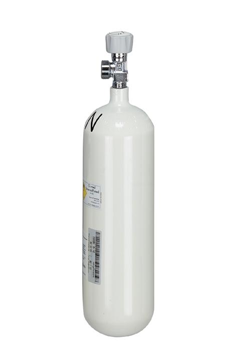 Sauerstoff-Flasche, leer 2,0 Ltr., G 3/4, 200 bar
