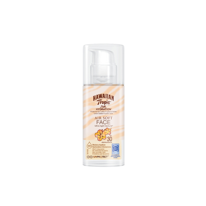 Hawaiian Tropic Silk Hydration Face 50 ml mit LSF 30
