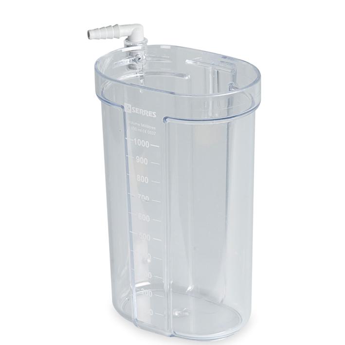 Sekretbehälter Serres 1000 ml