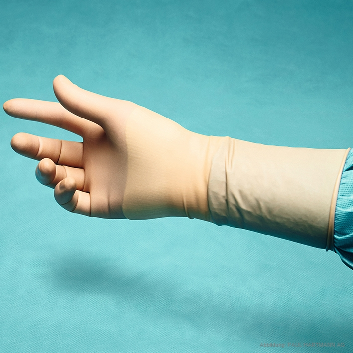 Peha-neon latexfree OP-Handschuhe, puderfrei, steril, Gr. 6 (50 Paar)