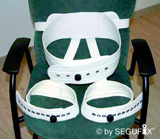 SEGUFIX-Sitzgurt mit Schrittgurt Gr. M, Magnetschloss-System