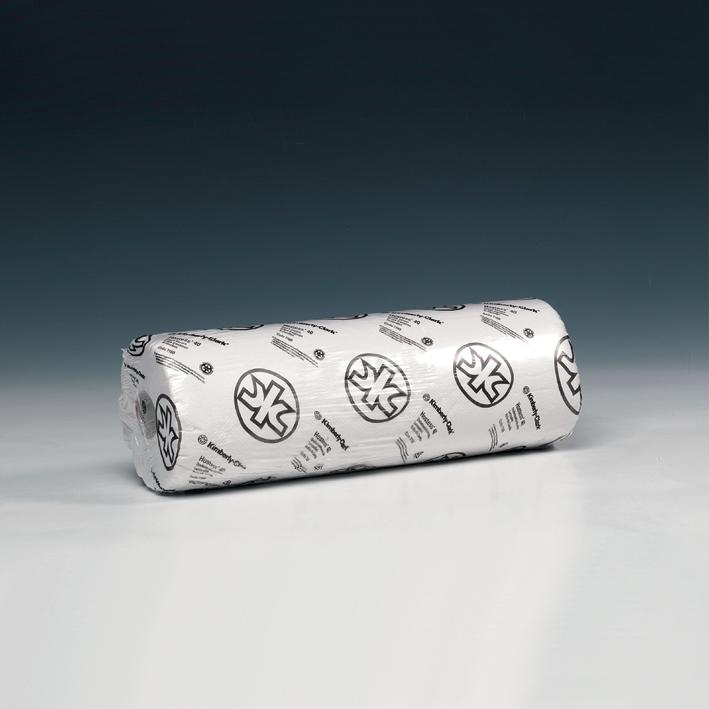 SCOTT ESSENTIAL Ärzterollen, 1-lagig, weiß, geprägt, 38 x 38,5cm (6 x 200 Bl.)