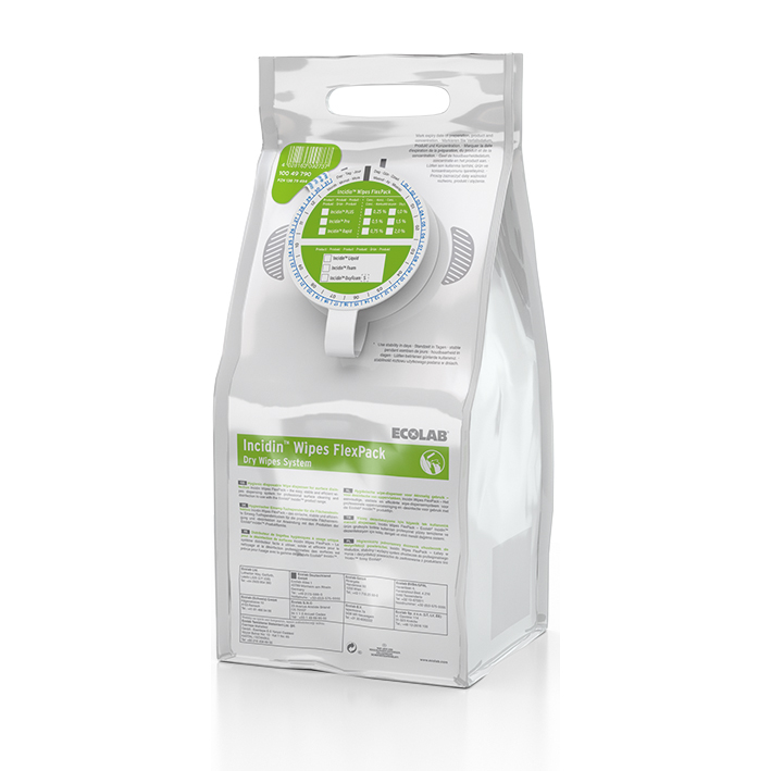 Incidin Wipes FlexPack mit grüner Kappe (6 FlexPack)