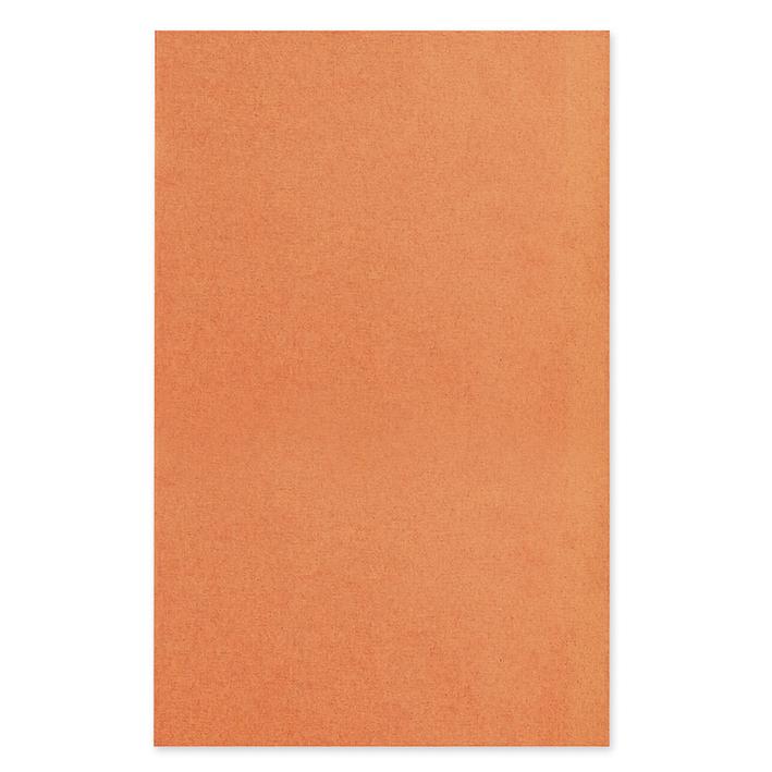 Dental-Trayeinlagen/-Filterpapier, 18 x 28 cm, orange (250 Blatt)
