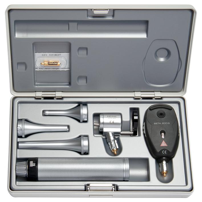 Veterinär Diagnostik-Set 2,5 V, BETA Batteriegriff