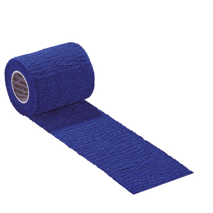 BLU GRIP Fixierbinde blau 8 cm x 4,5 m