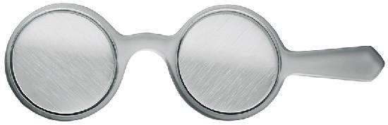 Vorhalter mit Lichtschweifgläsern (Bagolini) 45°/135°