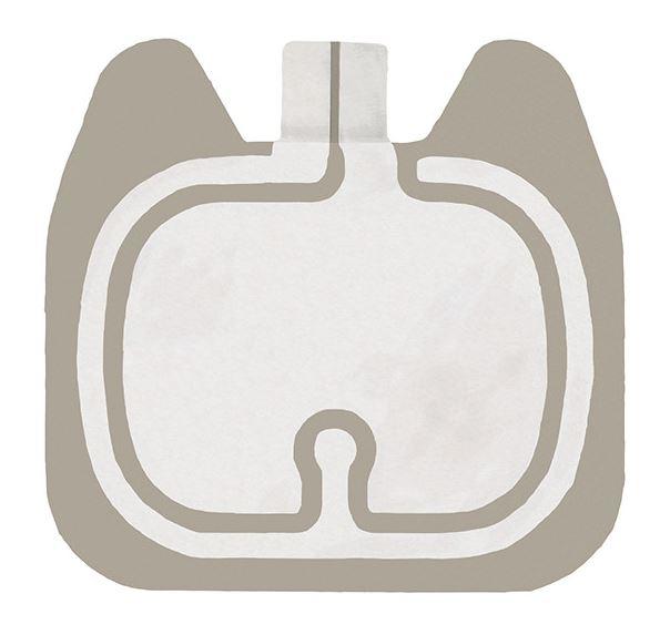 Einmal-Neutralelektroden compact, steril, geteilt, 90 cm?, ohne Kabel (100 Stck.)