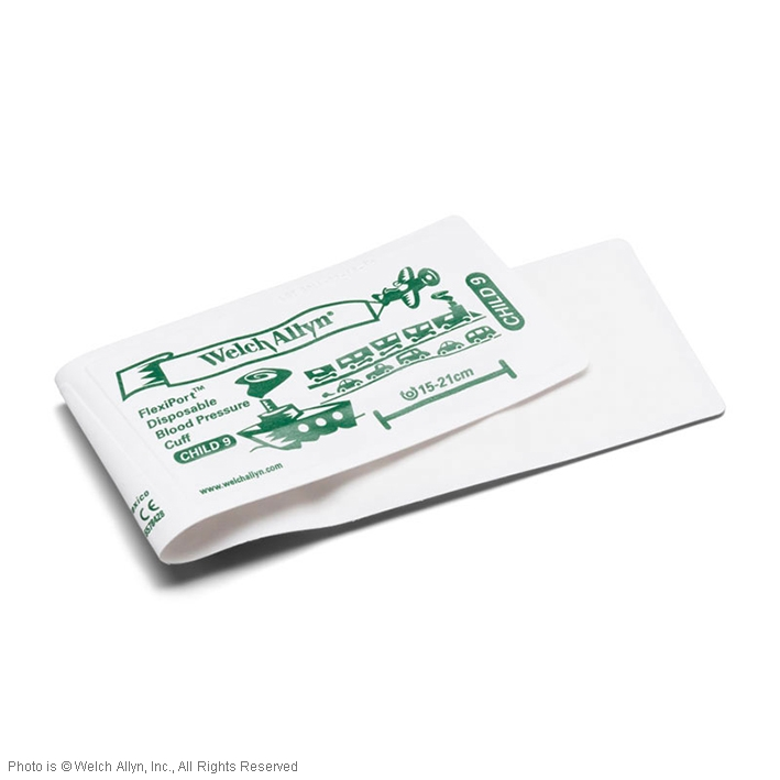 FlexiPort Einmal-Manschetten (20 Stck.), ohne Schlauch, für Kinder, ohne Geräteanschluss