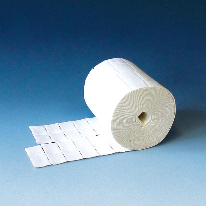 Zellstofftupfer ratiomed 4 x 5 cm, (2 Rl. à 500 Stck.)