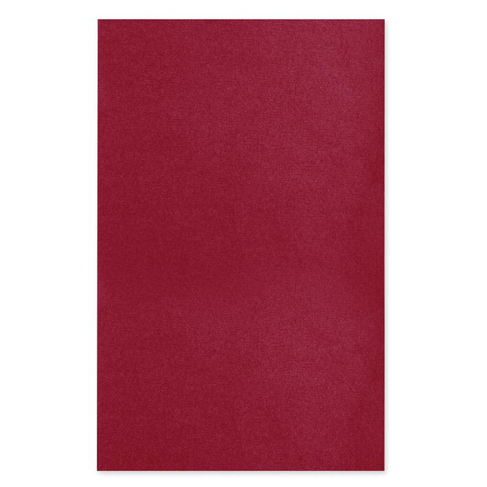 Dental-Trayeinlagen/-Filterpapier, 18 x 28 cm, weinrot (250 Blatt)